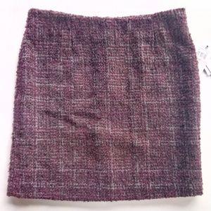 Amanda & Chelsea Wine Mini Skirt Size 10